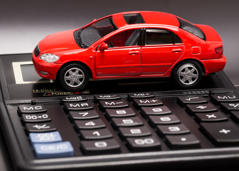 Car and calculator dreamstime s 62206256